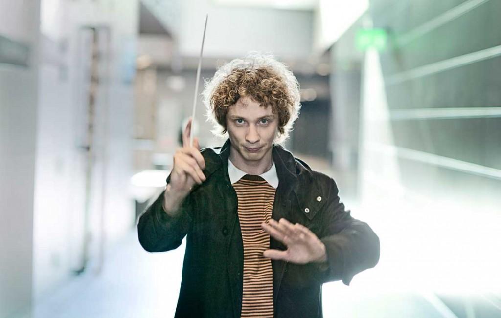 Lahden musiikkiluokkien juhlavuoden suojelija on Santtu-Matias Rouvali, entinen Lahden musiikkiluokkien oppilas hänkin.